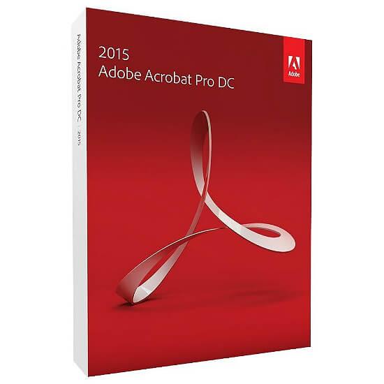 Adobe Acrobat DC Pro 2015
