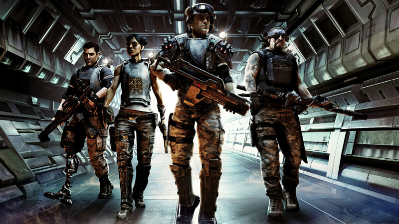 Aliens Colonial Marines Game