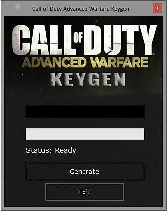 Call of Duty Advanced Warfare Key Generator