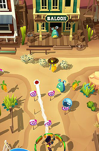 Candy patrol Lollipop defense gameplay
