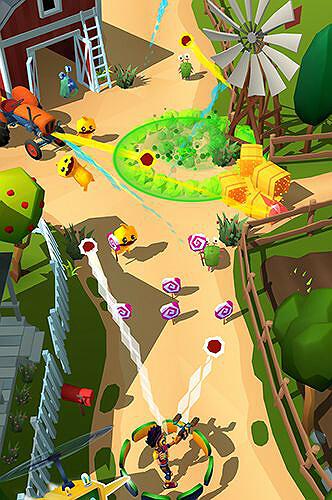 Candy patrol Lollipop defense mobile game