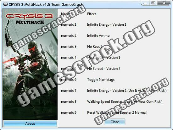 Crysis 3 Hack
