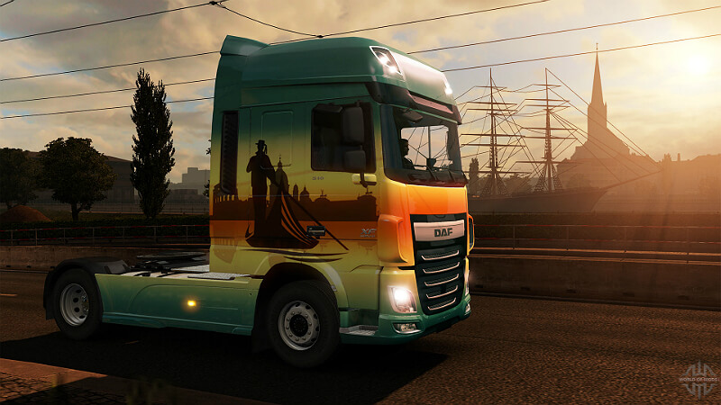 Euro Truck Simulator 2 Car