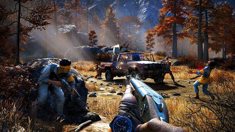 Far Cry 4 Gun