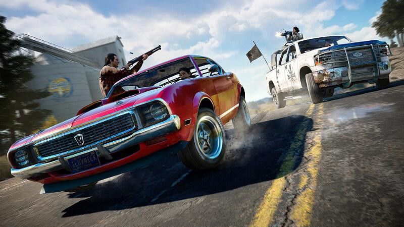 Far Cry 5 Car