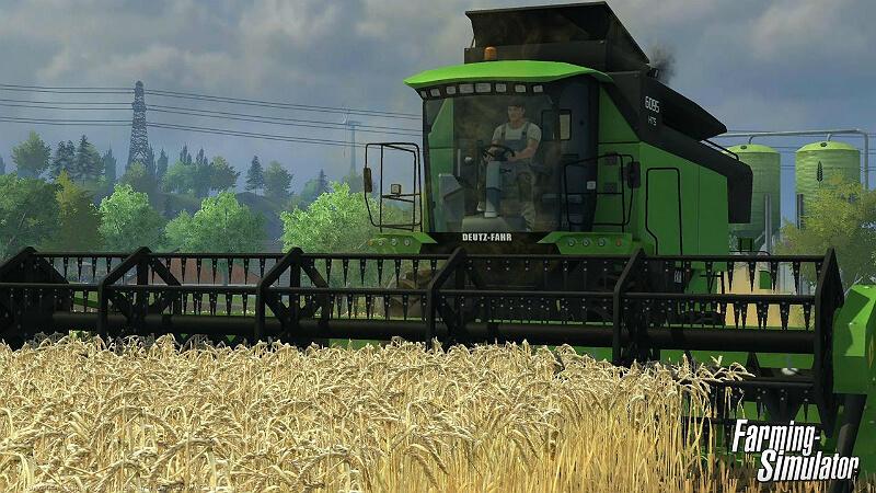 Farming Simulator 2013 Combine