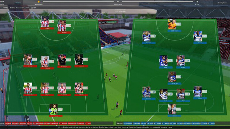 Football Manager 2018 Squad List