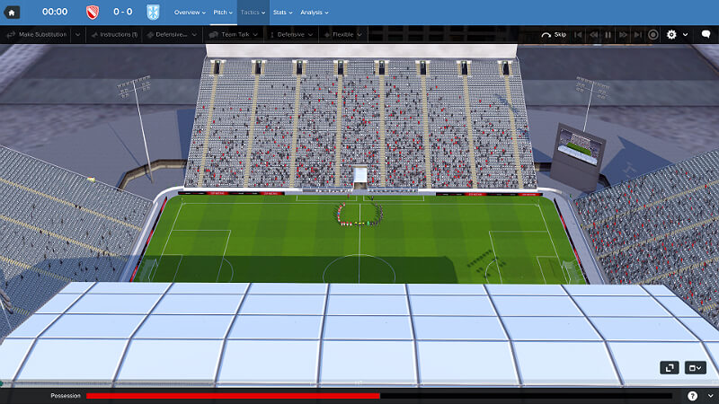 Football Manager 2018 Stadium