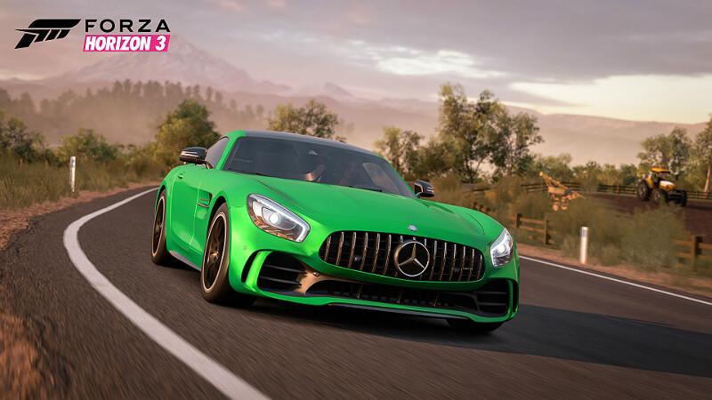 Forza Horizon 3 Mercedes