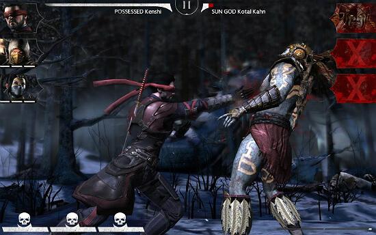 Mortal Kombat X Fight