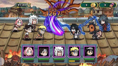 Ninja Rebirth Monster Legend Mobile Game