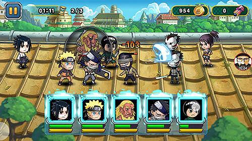 Ninja Rebirth Monster Legend Naruto Game