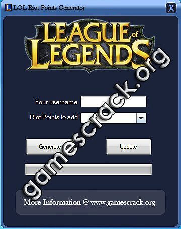 league of legends rp hack tool download