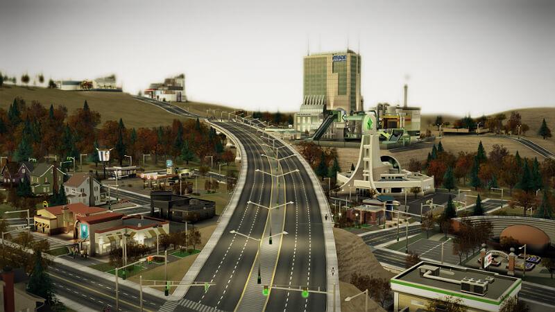 Sim City Road