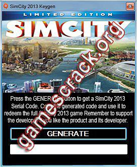 SimCity 2013 Keygen