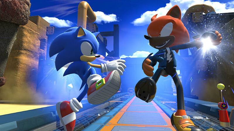 Sonic Forces Fight