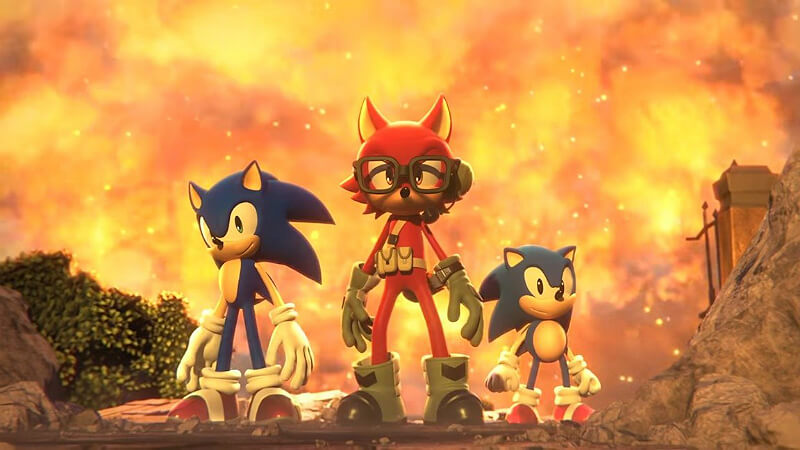 Sonic Forces ThreeCharacters