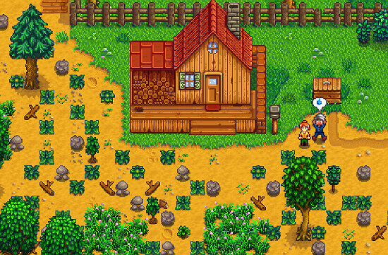 Stardew Valley Don't sell wood, fiber, or stone