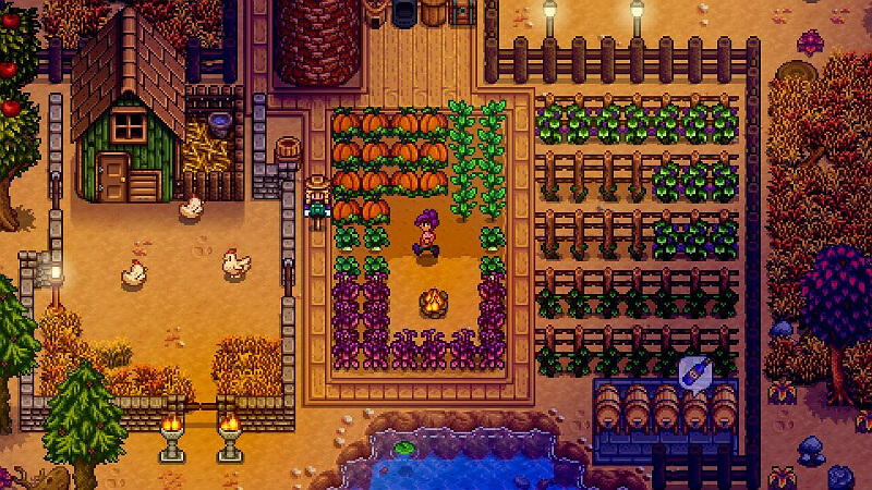 Stardew Valley Fall Crops