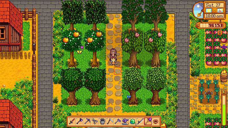 Stardew Valley Fruit Trees