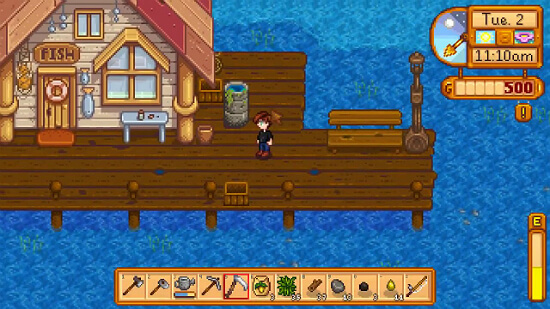 Stardew Valley How to Use Fishing Bait