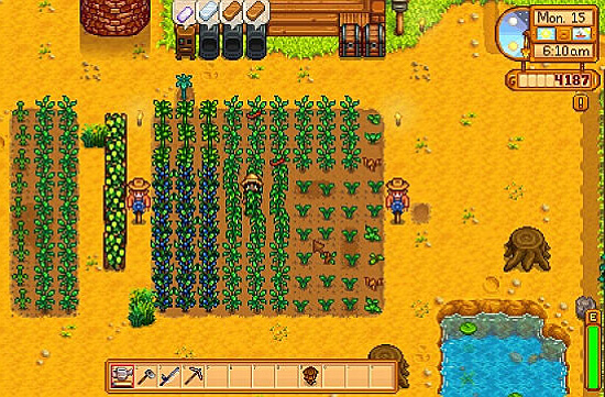 Stardew Valley Sell produced fruits and vegetable