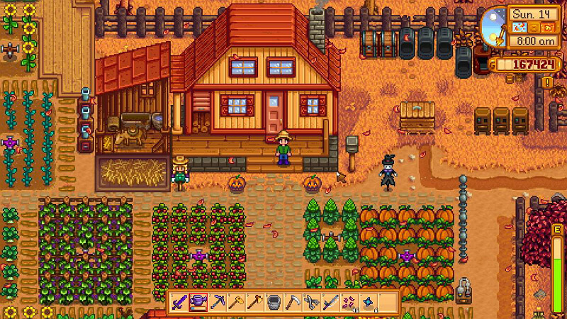Stardew Valley Summer Crops