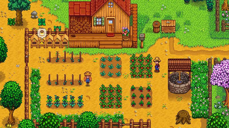 Stardew Valley Summer Crops GamePlay