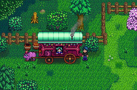 Stardew Valley Traveling Cart