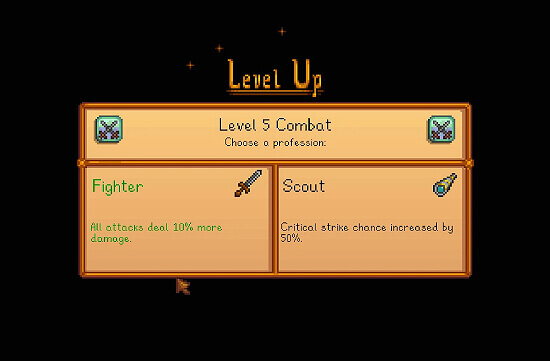 Stardew Valley Fighter vs Scout
