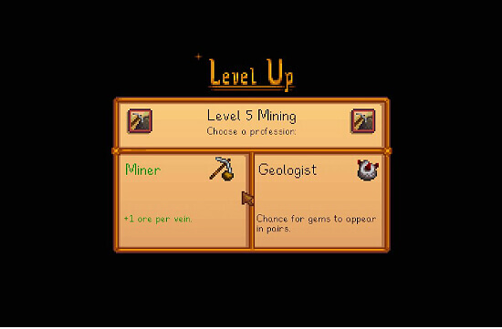 Stardew Valley Miner vs Geologist