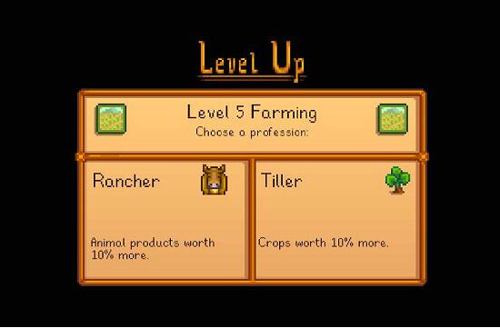 Stardew Valley Rancher vs Tiller