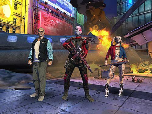 Suicide squad special ops team