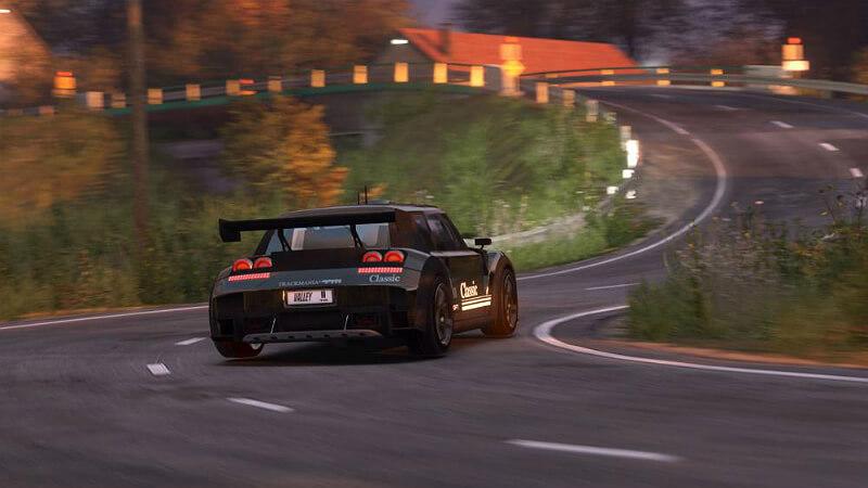 TrackMania 2 Valley Crack