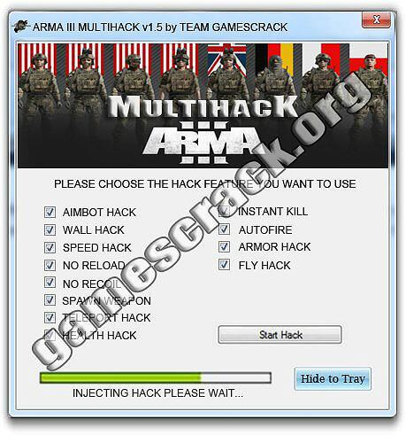 Arma 3 Hack