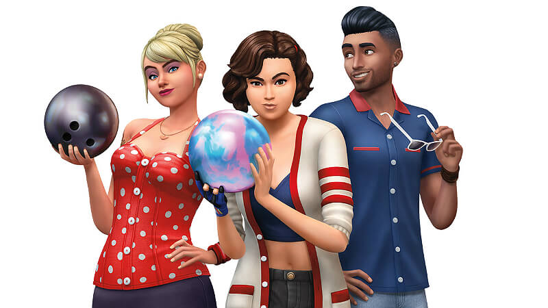 Bowling Sims 4