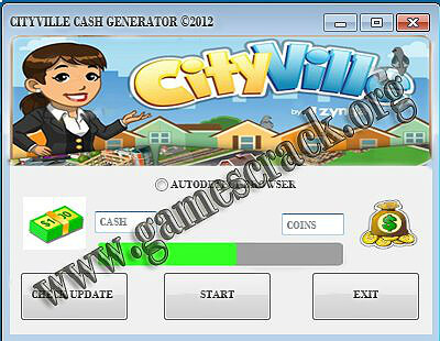 Cityville Cash Generator
