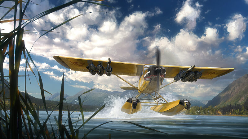 Far Cry 5 Aircraft