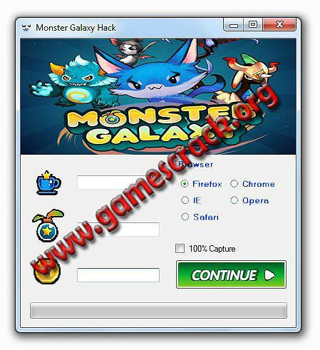 Monster Galaxy Hack