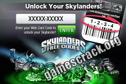 Skylanders Codes