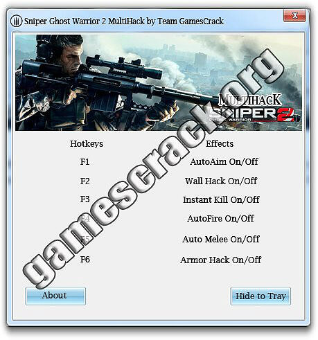 Sniper Ghost Warrior 2 Hack
