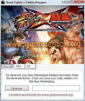 Street Fighter x Tekken Keygen
