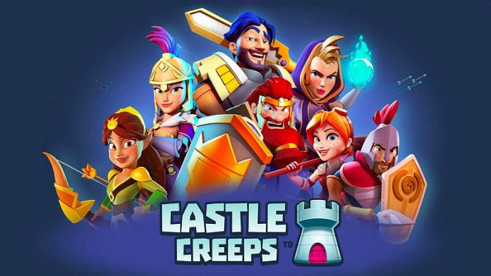 Castle Creeps TD Android