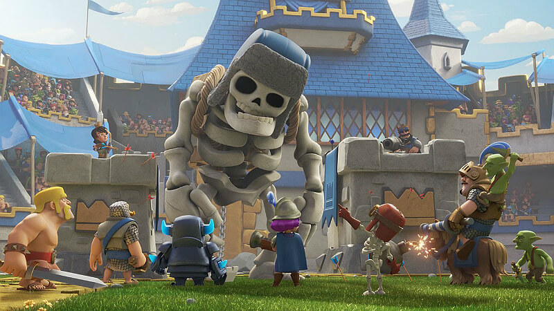 Clash Royale Giant Skeleton
