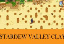Clay Stardew Valley