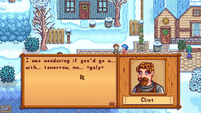 Clint Schedule Stardew Valley