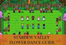 Flower Dance Stardew Valley
