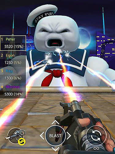 Ghostbusters World GamePlay