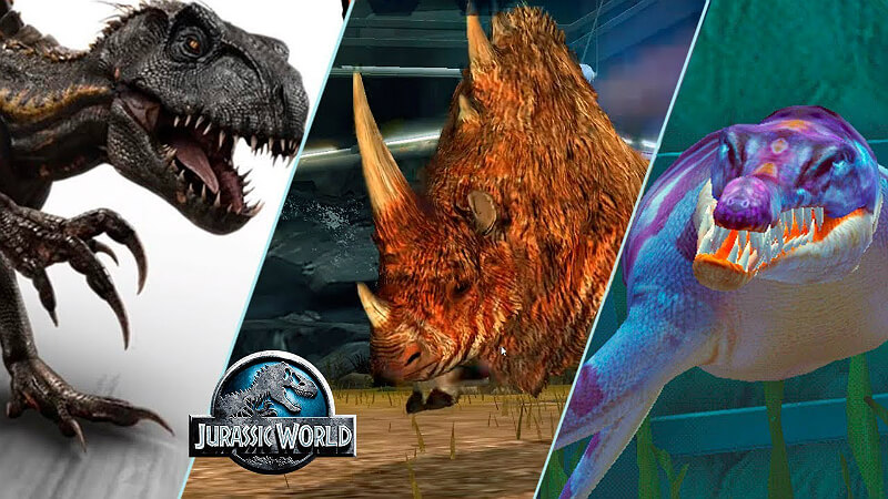 Jurassic World The Game Mods and Hack