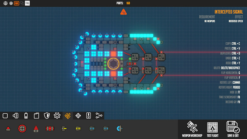 Nimbatus - The Space Drone Constructor Game